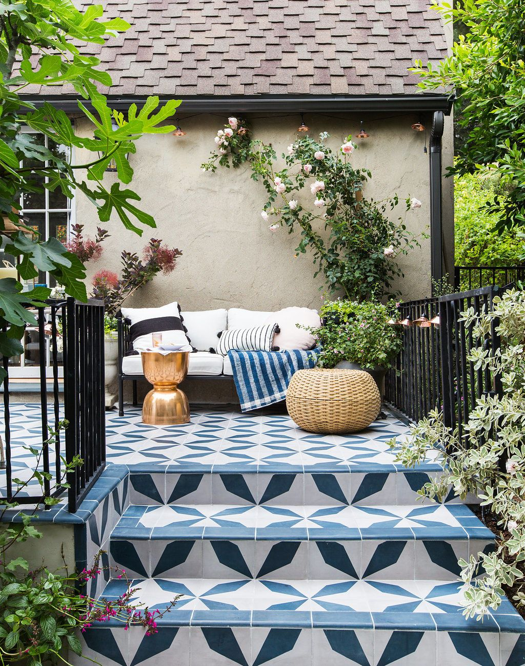 EXCLUSIVE: Emily Henderson's Backyard Makeover Is a Dream