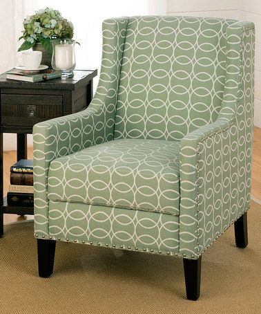 Cool Another Great Find On Zulily Mint Green Tessa Accent Chair Creativecarmelina Interior Chair Design Creativecarmelinacom