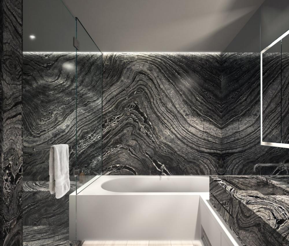 Kenya Black | Modern bathroom, Real estate photography, Dream ...