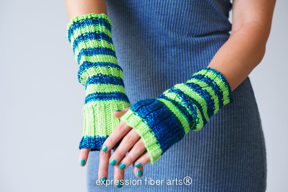 A Great Gift Idea Slouchable Knitted Arm Warmers Pattern