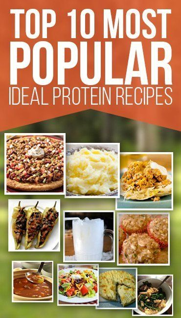 100+ Ideal Protein Recipes for all Phases of the Diet | Nutrition World
