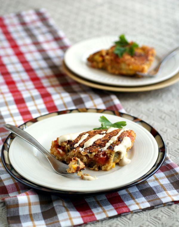 EGG FREE,Anti-candida, gluten-free, sugar-free vegan Quinoa Frittata Recipe | Ricki Heller