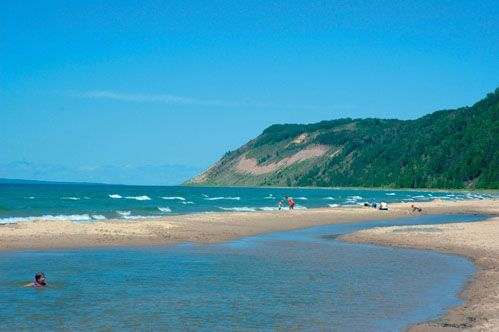 A Visit To Otter Creek Esch Road Beach And The Lost Port Of Aral Michigan Travel Destinations Michigan Travel Traverse City Michigan