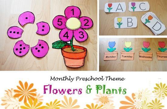 Fabulous Spring Flower Fun Preschool Thoughts Preschool Lesson
