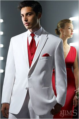 The La Strada Tuxedo, a two button, single breasted styling with a ...