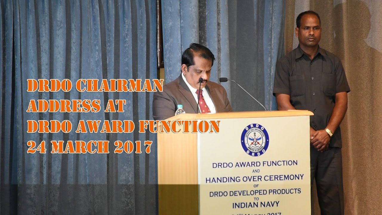 DRDO Chairman Dr S Christopher's Inaugural Address At DRDO