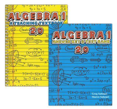 Teaching Textbooks Algebra 1 Textbook With Answer Key Version 2 0 Teaching Textbooks Homeschool Math Math School