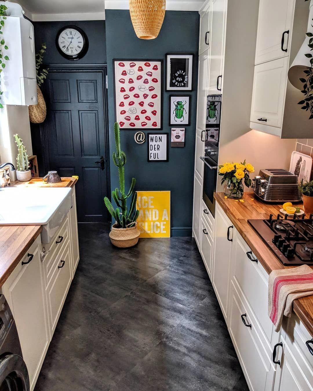 Kitchen Countertop DIY #ikeagalleykitchen en 20 (avec images