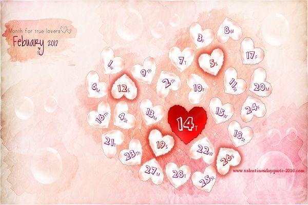 Wish U Happy February 2017 Wallpapers February wallpaper