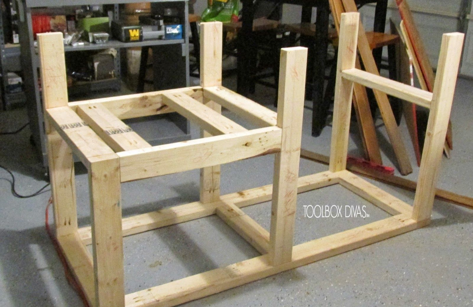 Table Saw Workbench With Wood Storage Projects To Try Pinterest