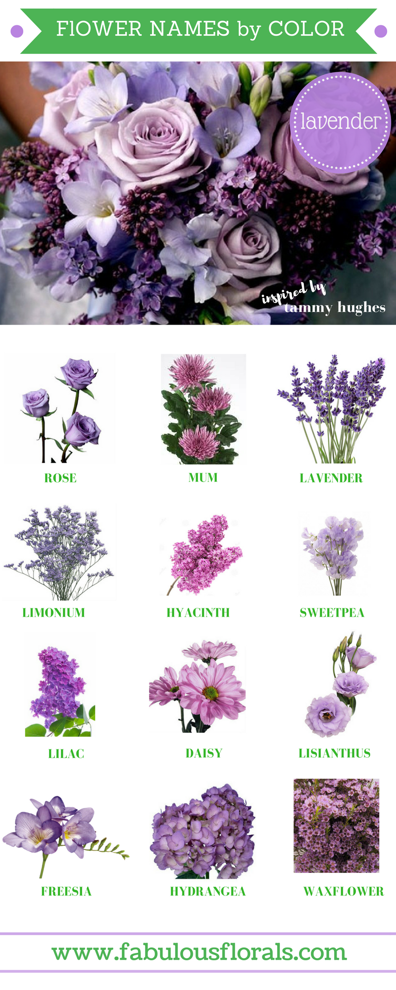 70 Beautiful Purple Flowers Care Growing Tips Wedding