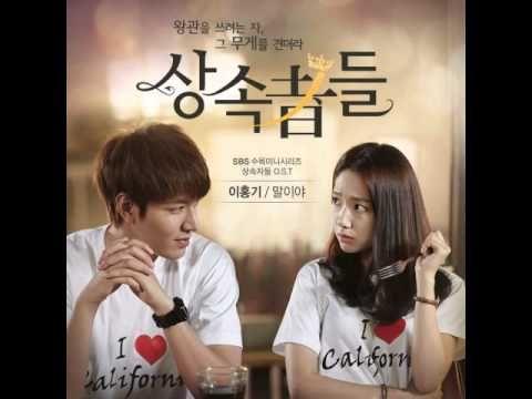 Lee Hongki (이홍기) - 말이야 (I'm Saying) (Full Audio) [Heirs OST] - YouTube