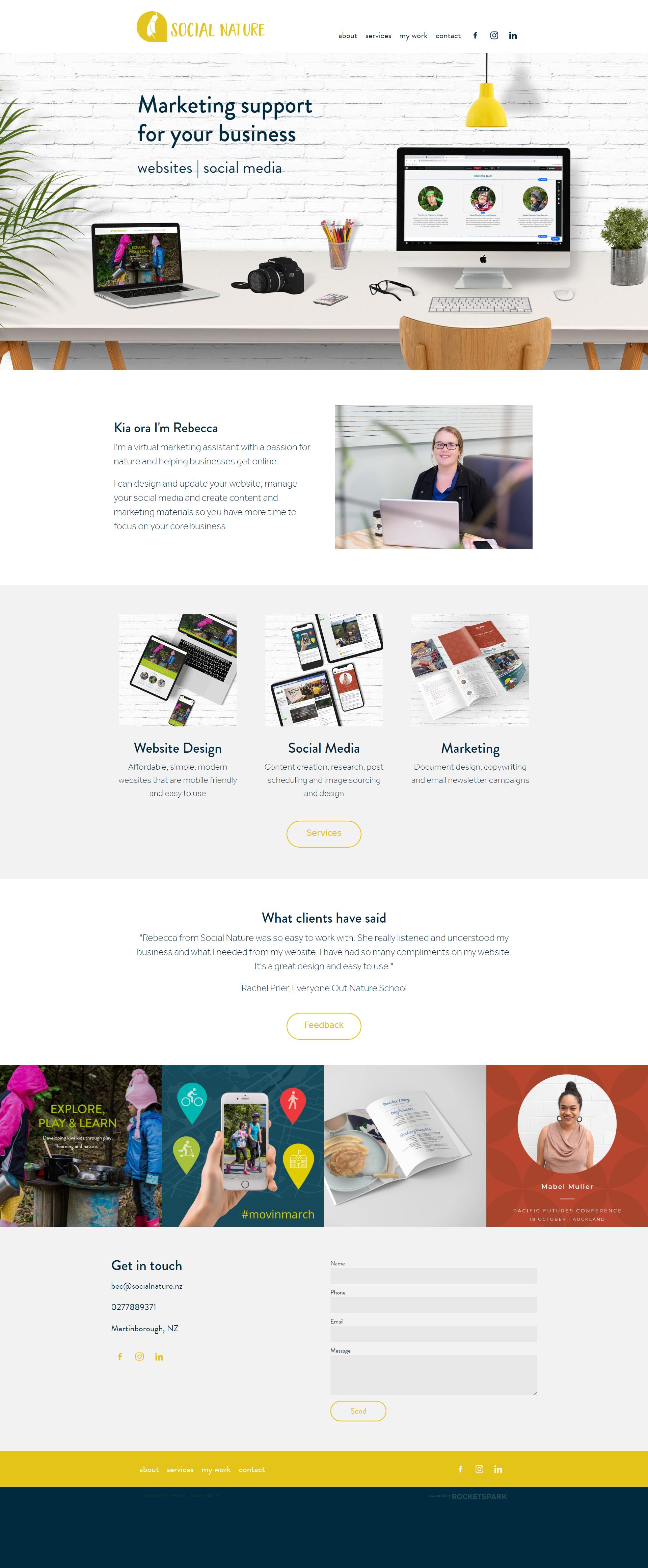 Wairarapa Website Design In 2020 Website Design Social Media Services Marketing Support