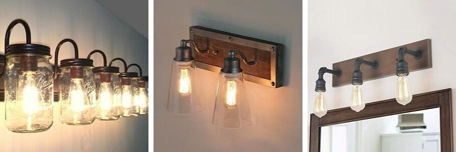Photo of Farmhouse bathroom vanity lights & rustic vanity lights – farmhouse goals