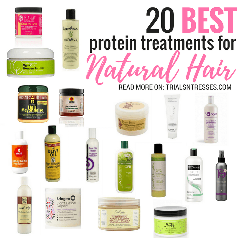 20 Best Protein Treatments For Natural Hair Protein