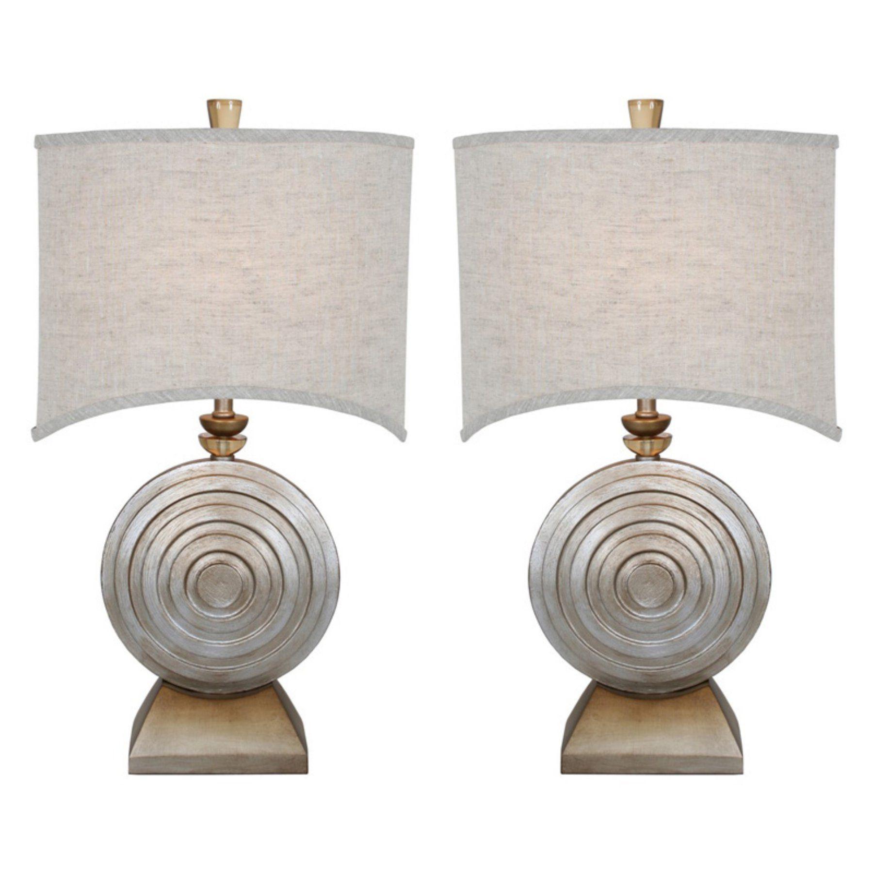 Van Teal Ofra Table Lamps  Set Of 2