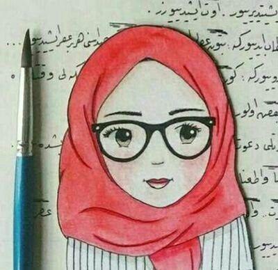 Kapalı Kız çizimler Hijab Drawing Anime Muslim Ve Anime Muslimah