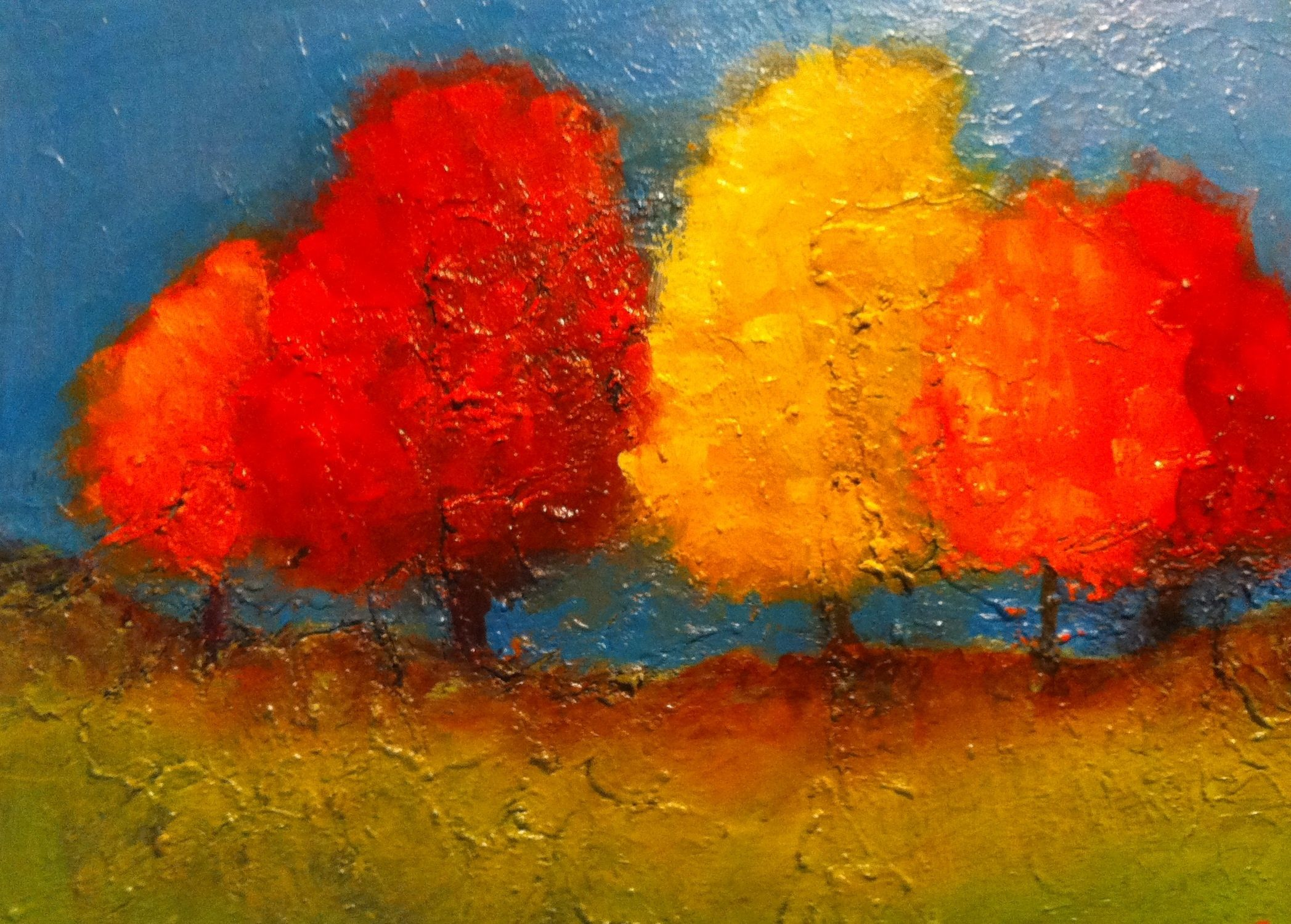 warm colors painting - Google Search | Warm color | Pinterest ...