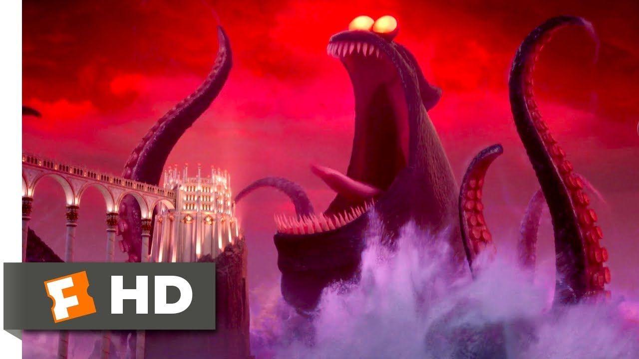Hotel Transylvania 3 2018 Dracula Vs The Kraken Scene 9 10
