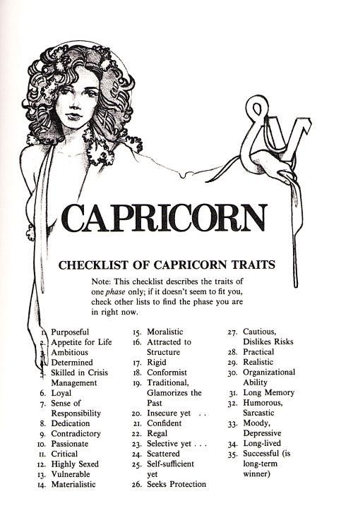 Are capricorns moody