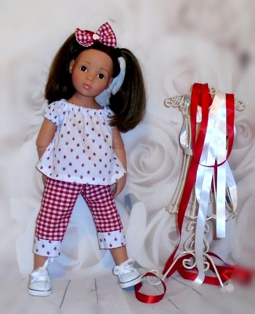 Gypsy top,carpri pants Gotz Hannah/happy kidz/designafriend dolls by ...