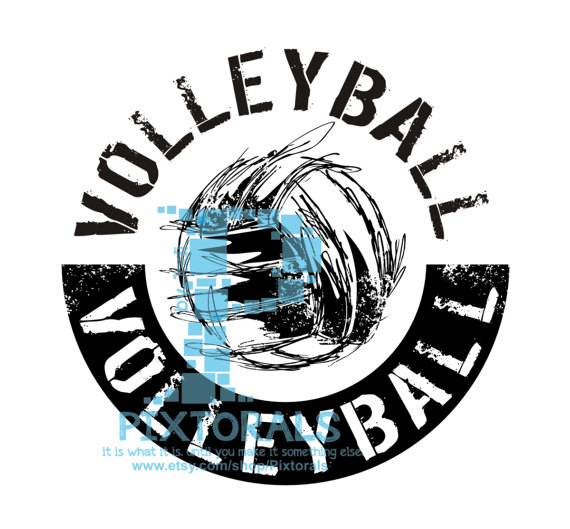 Volleyball Logo Jpg Png And Eps Formats As Vector Sports Vector Volleyball Design Vintage Volleyball Designs Volleyball Shirt Designs Volleyball Pictures