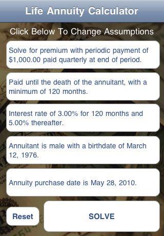life annuity calculator annuity info pinterest life annuity
