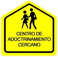 ... Centro de adoctrinamiento cercano.