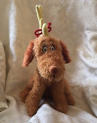 Kohls Dr Seuss How the Grinch Stole Christmas Max Dog Plush Puppy