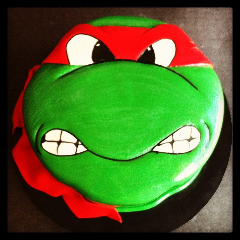 Raphael Ninja Turtle Cake Cakes By Lou With Images Ninja