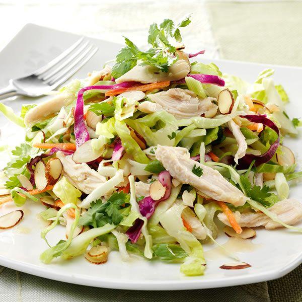 Asian Chicken Salad Recipe Chinese Pinterest Salad Asian