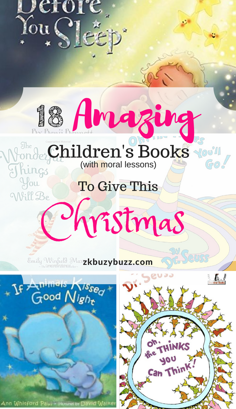 Christmas gift ideas i childrens books i non toy christmas gifts i zkbuzybuzz is about raising a healthy and happy family giving tips to moms about their journey in life do it yourself crafts and fun quizzes solutioingenieria Choice Image