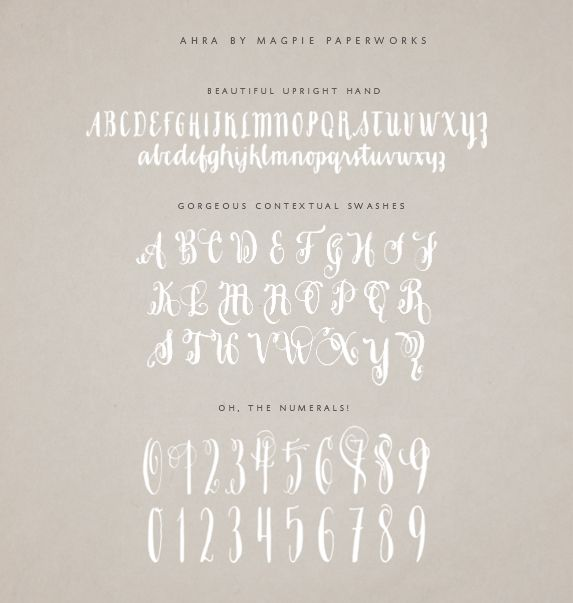 MODERN CALLIGRAPHY FONT | Calligraphy fonts, Modern calligraphy ...