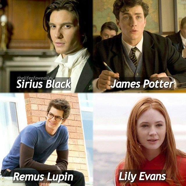 Marauders are my fave 💕 i dont like peter so i didn't include him 💕 - Q- favourite Marauder  A- remus  #harrypotter