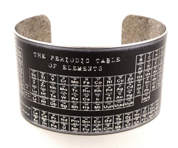 Periodic table of elements brass cuff bracelet chemistry jewelry periodic table of elements brass cuff bracelet chemistry jewelry science jewelry on etsy 4000 urtaz Image collections