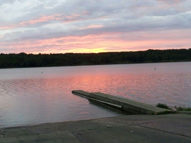 Sunrise at Deer Creek State park