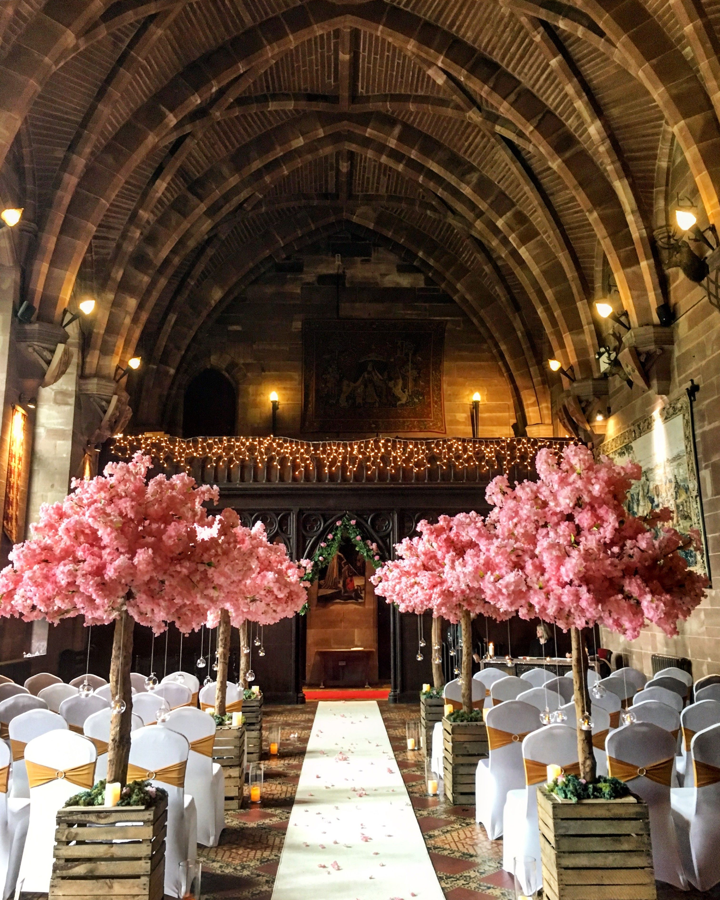 Venue Decorations: Luxury Castle Weddings And Wedding Venue In Cheshire