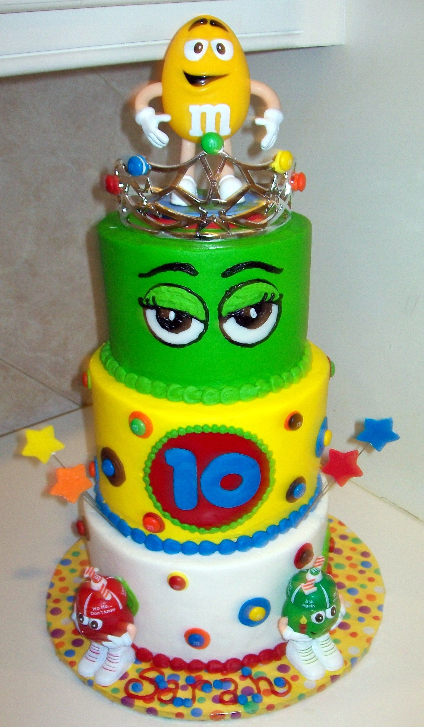 M Ms Birthday Cake another gr8 cake idea for my favorite Ms