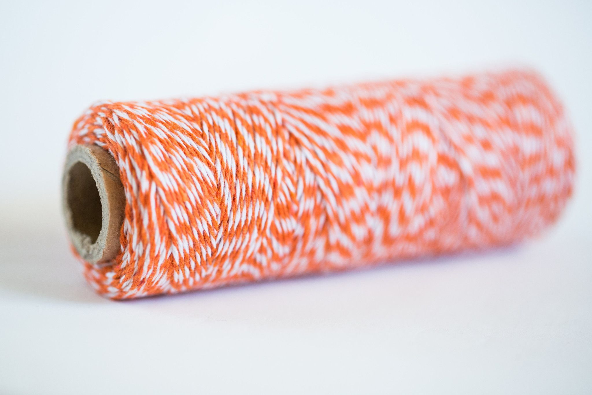 Orange Baker's Twine - 4 ply Cotton String 100 yards