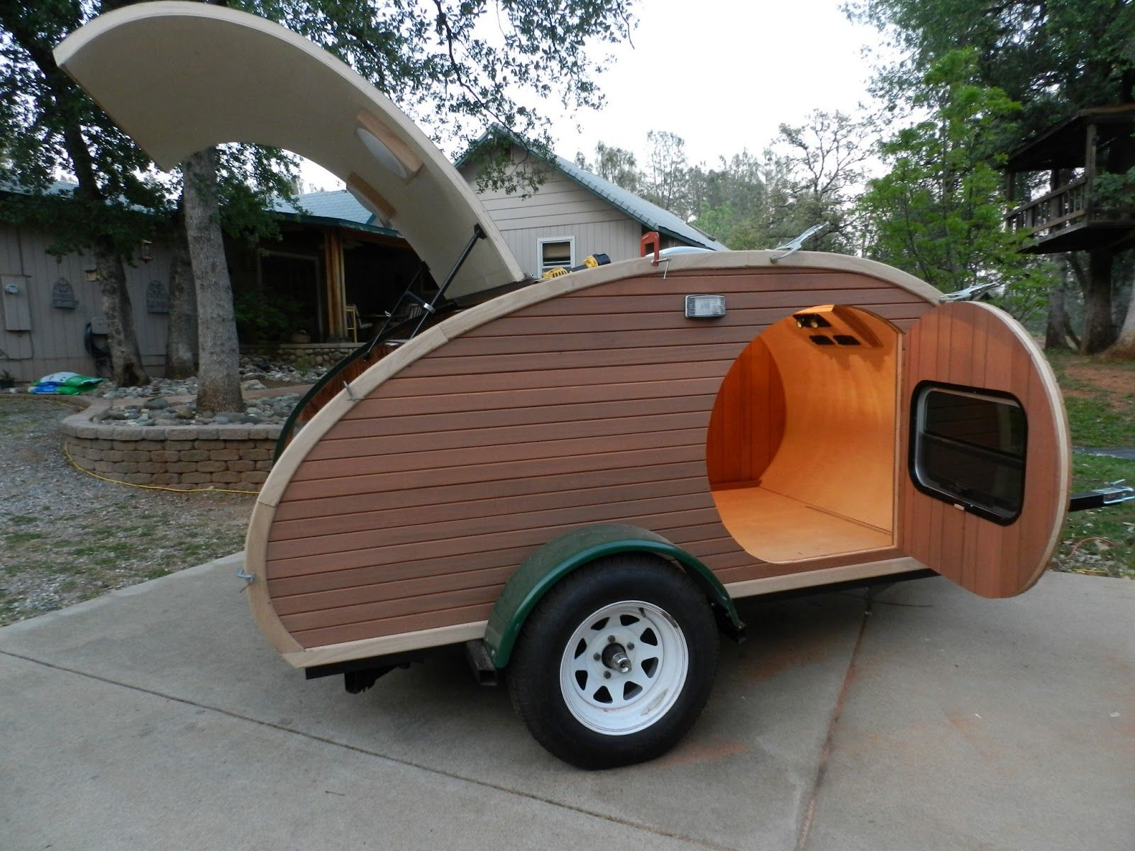 Ed's Teardrop Trailer Project | Teardrop Trailer | Teardrop camper