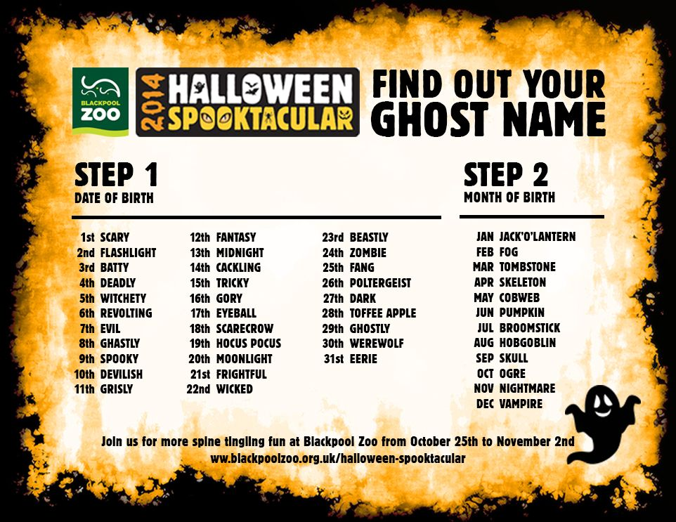 were starting to feel very halloweeny with just 12 days until our halloween - Names For A Halloween Party