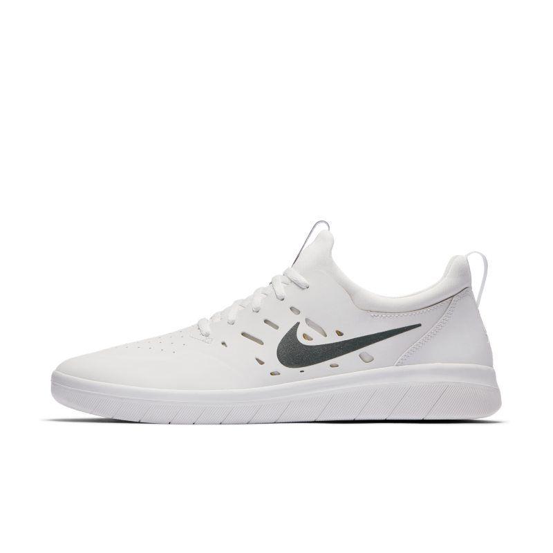 Nike SB Nyjah Men s Skateboarding Shoe - White in 2019  d6d79ce78
