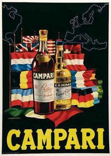 Campari Vintage Poster Vintage Italian Posters