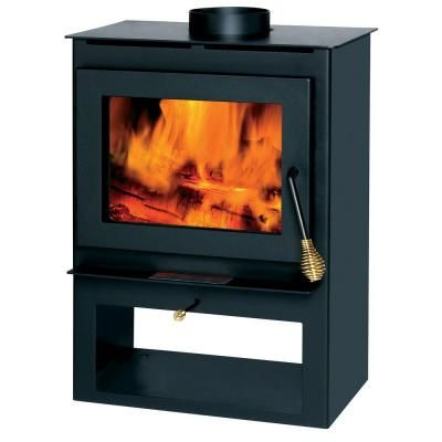 Wood-Burning Stove - 1,200 Sq. Ft. Wood-Burning Stove Home, Stove And Home Depot