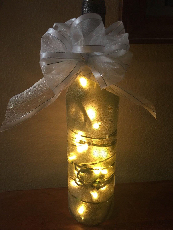 Lights For Wine Bottles Lighted Wine Bottles Wine Wedding Gift Wine Centerpieces Wine