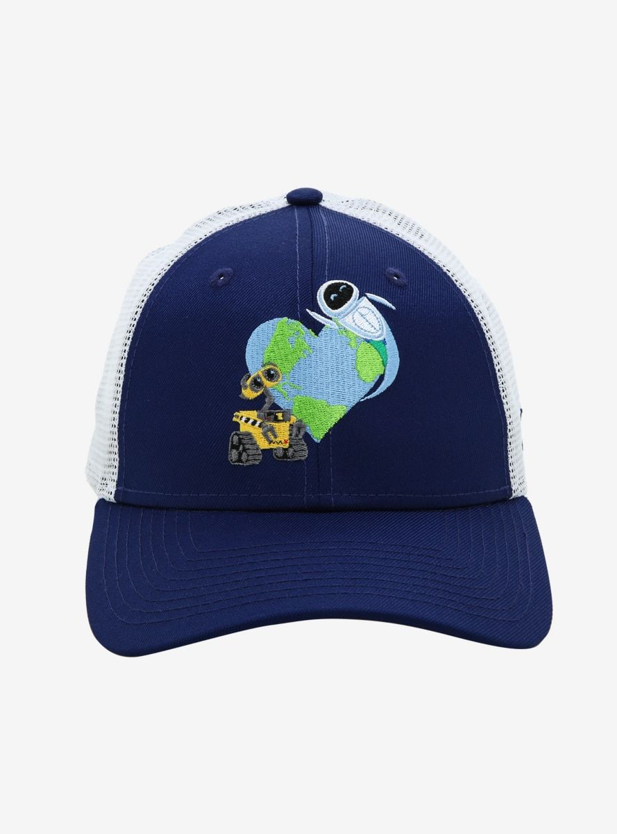 temperament shoes newest collection beauty New Era Disney Pixar WALL-E Heart Earth Snapback Hat - BoxLunch ...
