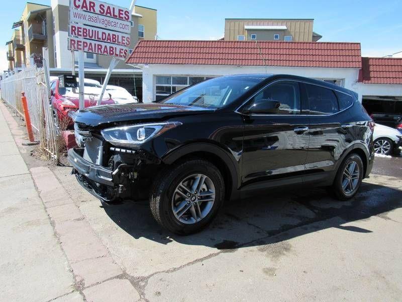 Ebay 2018 Santa Fe 2 4l Awd 4dr Suv 2018 Hyundai Santa Fe Sport 2 4l Awd 4dr Suv Rebuildable Repairable Hyundai Santa Fe Sport Santa Fe Sport Hyundai Santa Fe