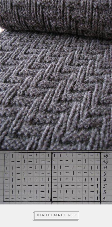 Zick-Zack Muster | Socken und Hausschuhe stricken und häkeln ...