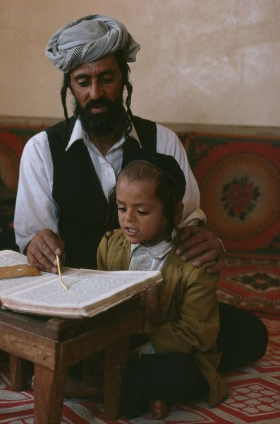 Religious Instruction- Jewish child in Yemen, 10/1997, photo by Steve McCurry (please repin with photographer's credits)