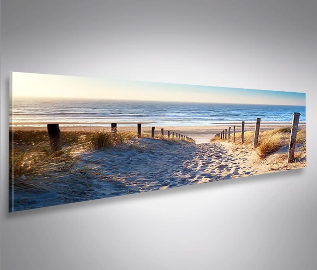leinwandbild bild bilder auf leinwand weg zum meer dunen panorama xxl eyecatcher von islandburner poster l preis ab 29 strand bestellen 90x60